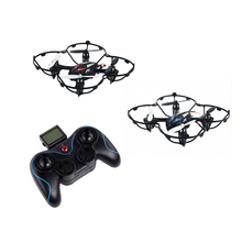 JJRC H6C 2 battery 6 Axis Gyro 2.4GHz Drone with Camera Quadcopter 360 Degree Eversion Function LED Light Kid Toys Free Shipping