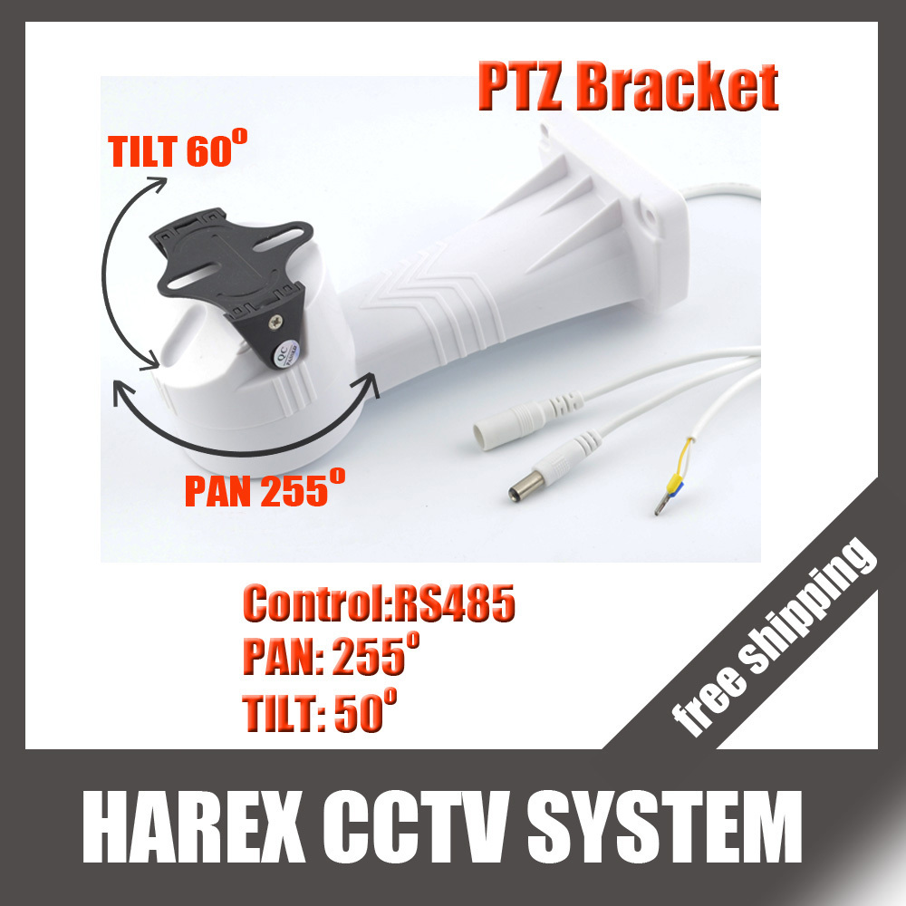 PTZ bracket Electrical Rotating Bracket Pan Tilt installation/ stand/ holder cctv accessories for cctv camera, free shipping(China (Mainland))