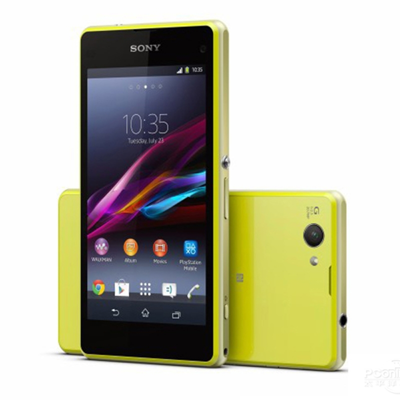 Refurbished Original Sony Xperia Z1 Compact M51W D5503 Smartphone 3G 16GBROM 2GBRAM Android 4 4 for