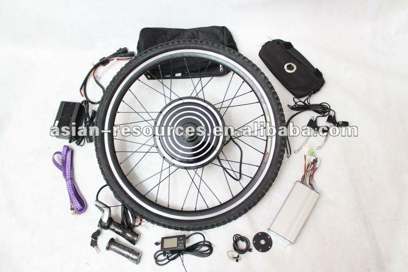 Brushless hub motor 24v 500w 26 front wheel electric for 500w hub motor kit
