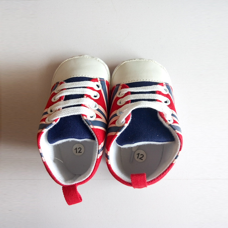Age 0-2 Baby Boy First Walker Newborn Fashion Soft Sole Baby Shoes Infantil Children Moccasins Star Union Flag Footwear Sneakers(China (Mainland))