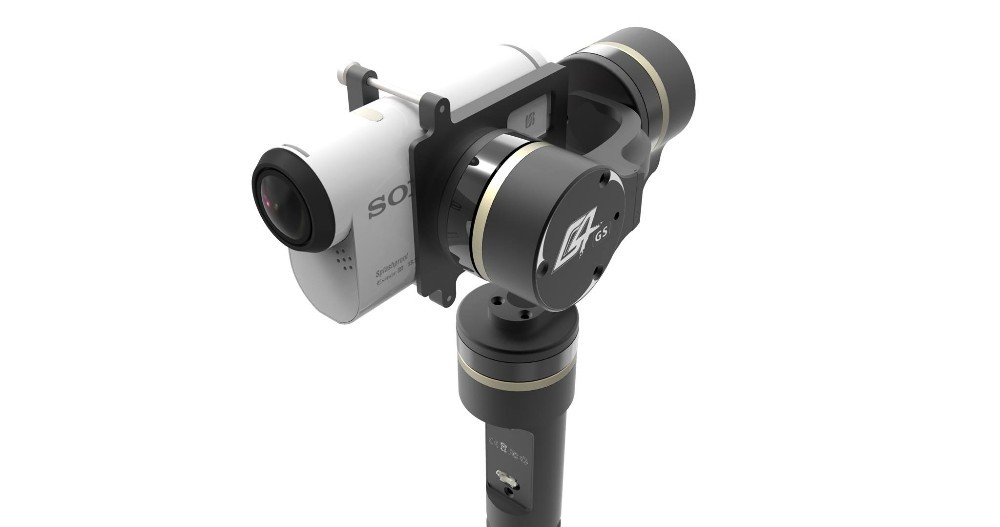 Feiyu Tech Newest FY-G4 GS  gimbal for Sony AS series camera  3-axis brushless gimbal for Song camera