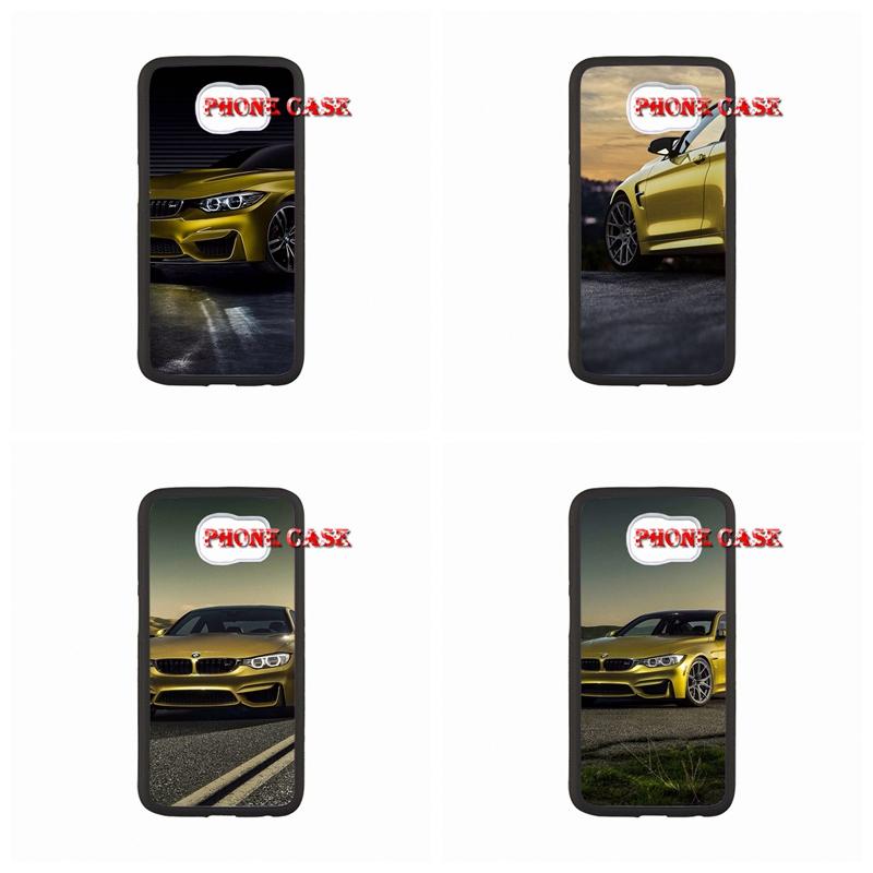 BMW M4 Tyrant gold supercar For LG G2 G3 G4 L70 L90Nexus 4 5 iPhone SE iPod Touch 6 Sony Xperia C M2 Z Z1 Z2 Z3 Z4 Z5 compact(China (Mainland))