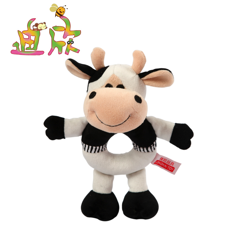 Small Toy Cows : Aliexpress buy cm new baby toys hand bell animal