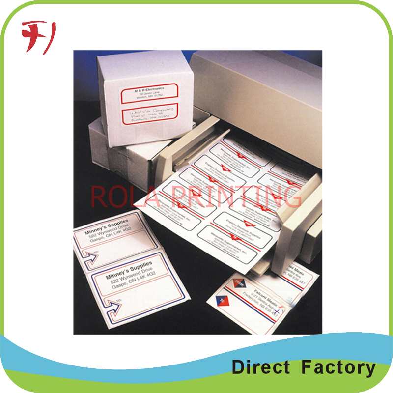 Customized high quality and cheap price custom packaging transparent labels stickers , permanent waterproof adhesive label(China (Mainland))