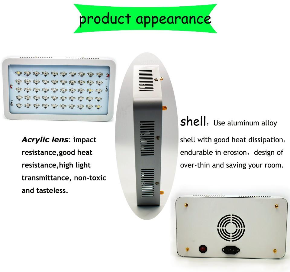 NEW 150 Watt LED Grow Light Full Spectrum LED Lamps For Plants Seedlings LED Fitolampy Plant Grow Lamp Panel LED Indoor