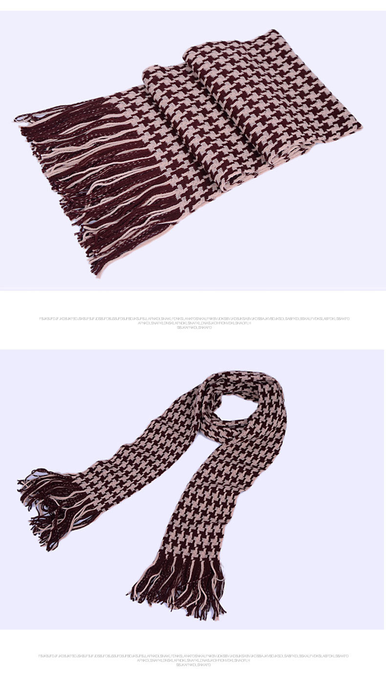 The new 2015 autumn and winter scarf Men scarf color matching Multicolor optional Warm scarf