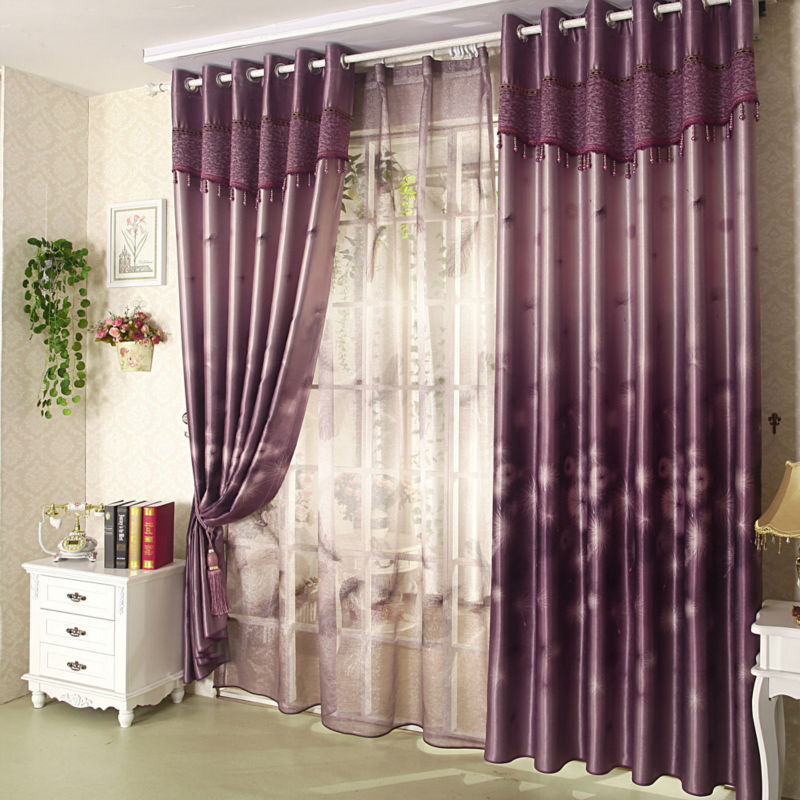 Buy Small Plaid Ready Made Double Pinch Pleat Curtains