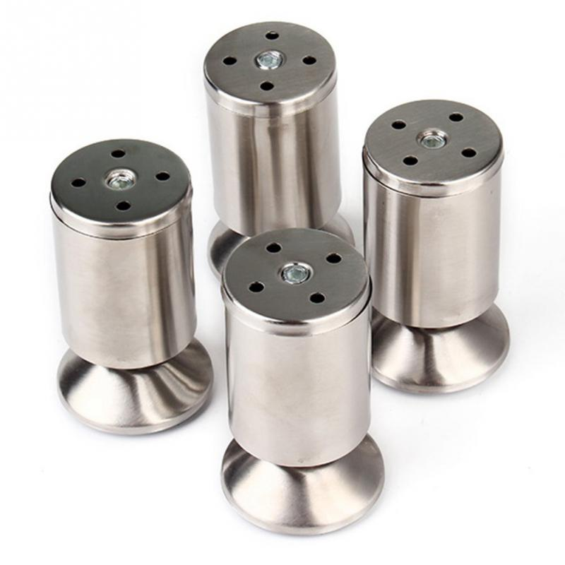 4pcs Pack Stainless Steel Modern Sofa Legs Furniture