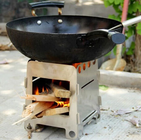 Camping Wood Stove WB Designs - Camping Wood Stove WB Designs