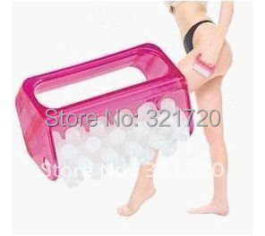 (8 pieces/lot) Plastic body massage roller tools Foot massage roller Cheap and practical Color random delivery Free shipping