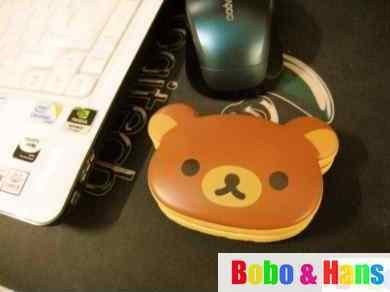 Cute cartoon rilakkuma series PU Wrist pad / squishy hand rest pillow  / Wholesale