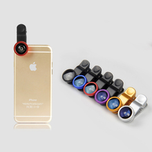 Buy Universal 3 1 Clip Macro Wide Angle Fish Eye Kit Phone camera Lens iPhone/Samsung/Sony/LG/HuaWei/XiaoMi/HTC for $52.25 in AliExpress store