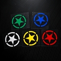 NO LS001 Five point star Military Reflective Safe Caution 3M Car Stickers Decals Motorcycle MOTO GP