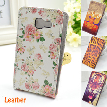 Flip Leather Case Cover For Samsung Galaxy S Duos S7562 GT-S7562 7562 For Samsung Galaxy Trend Plus S7582(China (Mainland))