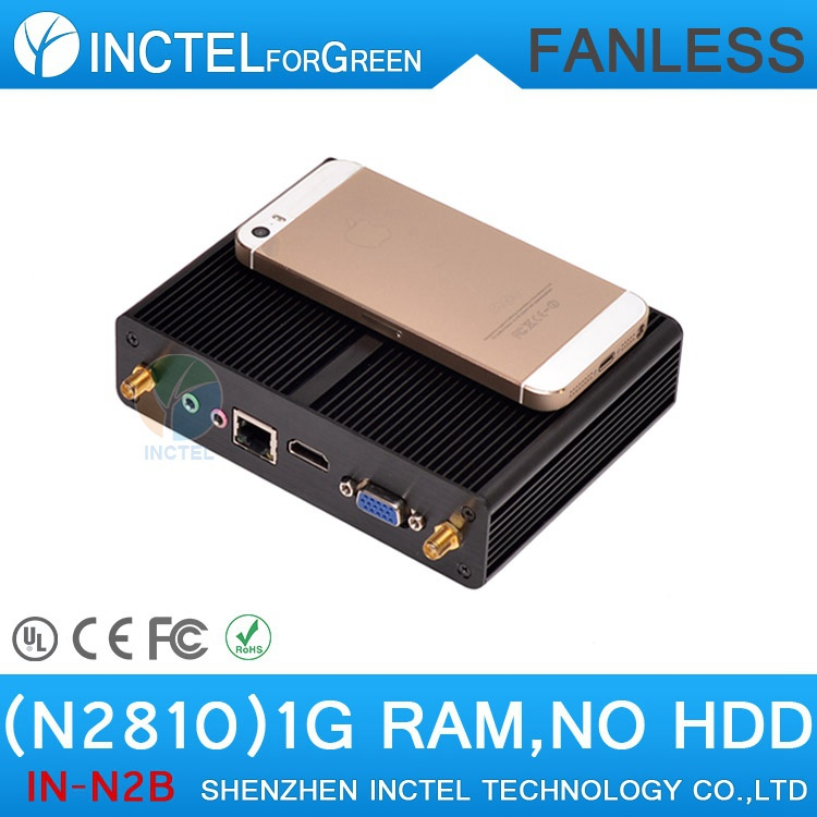 Intel Celeron N2810 dual core dual threads 2.0Ghz CPU smallest fanless mini pc gaming pc(China (Mainland))