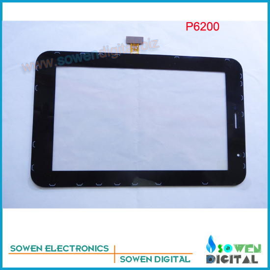 for Samsung GALAXY Tab P6200 touch screen digitizer touch panel,Black,Original new,Free shipping