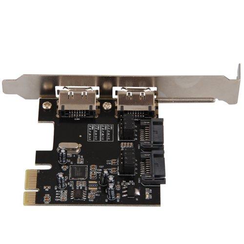 YOC Hot PCI-E PCI-Express to SATA 3.0 eSATA Adapter Converter Extension Card(China (Mainland))