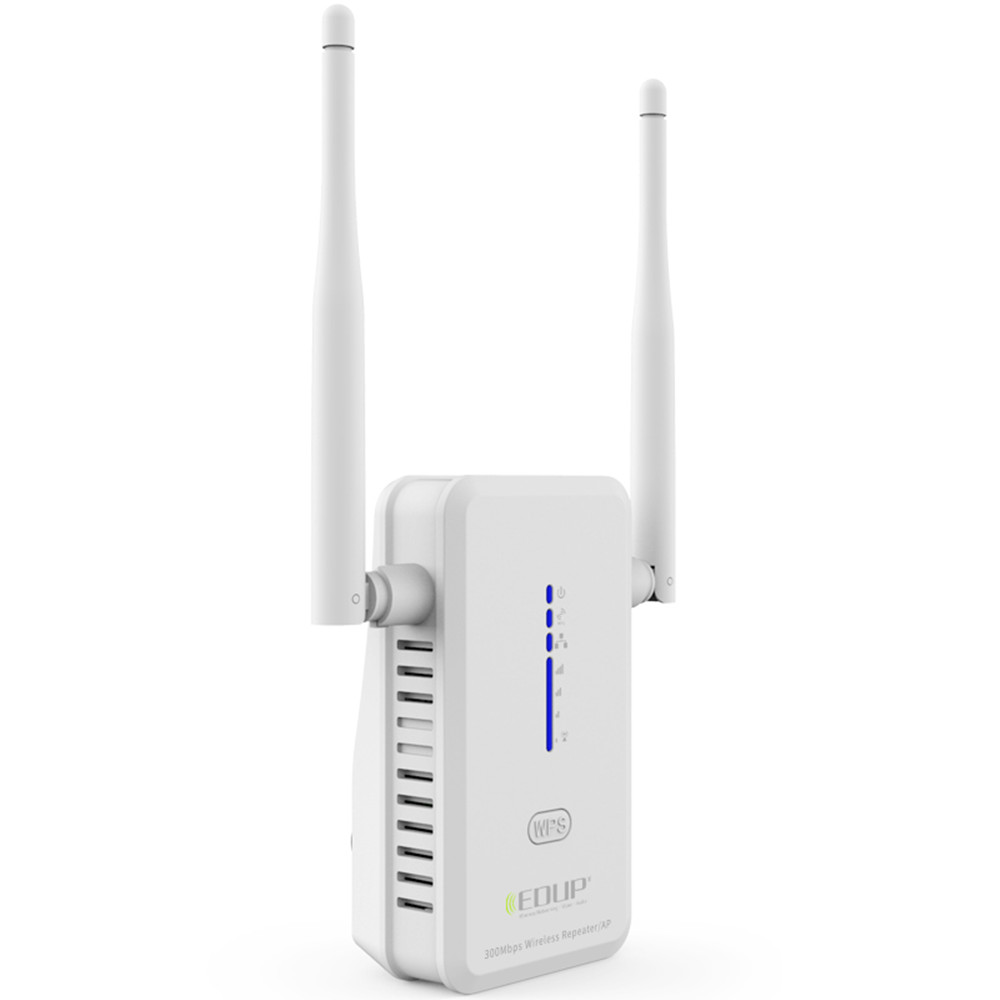 Original EDUP 300M 802.11n/b/g Wireless WiFi repeater Router WLAN Repeater WiFi Antennas Signal Boosters Range Extender EP-2918(China (Mainland))