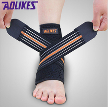Global DHL Free Shipping:aolikes +Mountaineering ankle+Protect +Basketball bandage+Anti sprain+Nursing ankle+Sports Safety(China (Mainland))