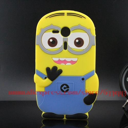 For Sony Xperia SP Case Cute Despicable Me Silicone Minion Phone Back Skin Cases Cover For Sony Xperia SP M35h C5302 C5303(China (Mainland))