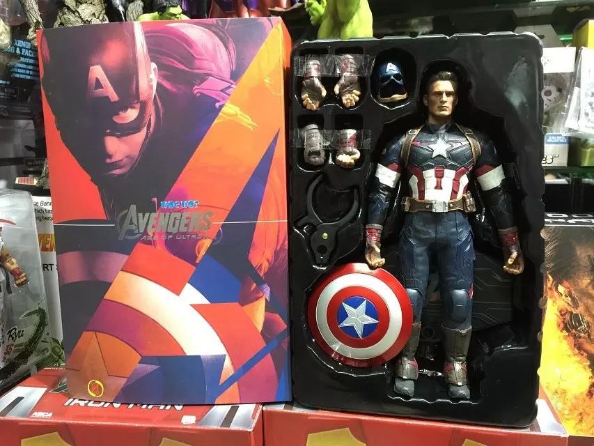 HC  Avengers Age of Ultron Captain America 1//6 Scale Action Figure