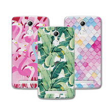 """Buy Mermaid Flamingo Painted Soft Silicone Phone Case coque Doogee Homtom HT17 / HT17 Pro Case Cover Funda Homtom HT17 5.5""""+FreeGift for $1.48 in AliExpress store"""
