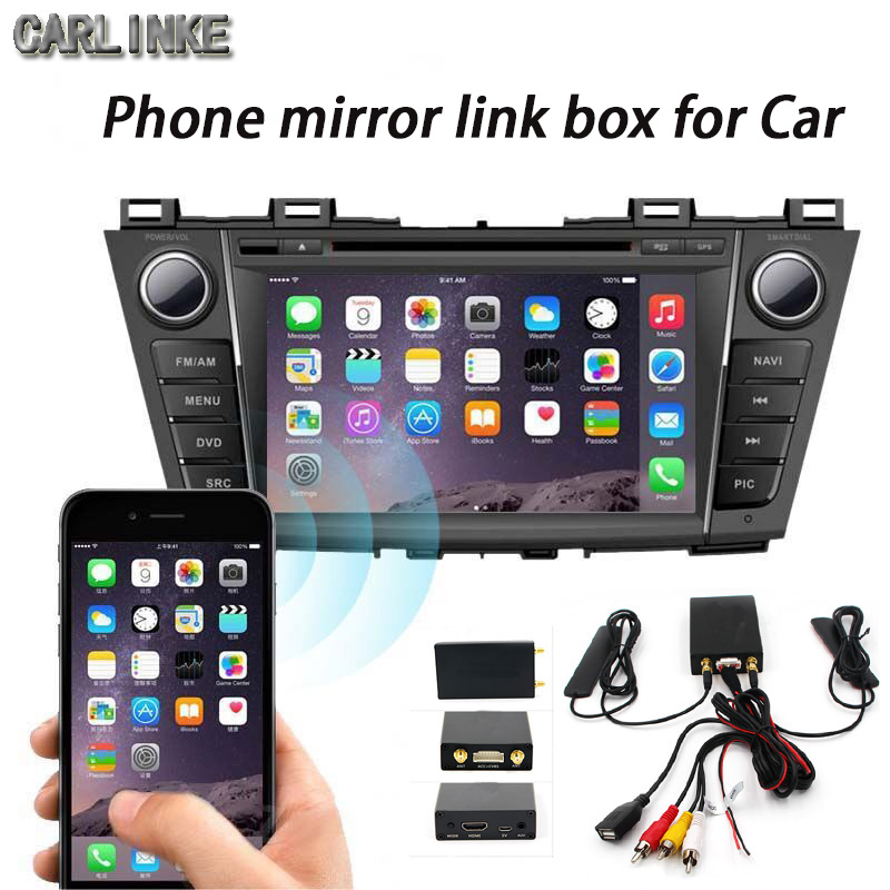 cheapest navigator carlinke car pc Trip computer miracast support every kind phone wifi wireless mirror link box to all car(China (Mainland))