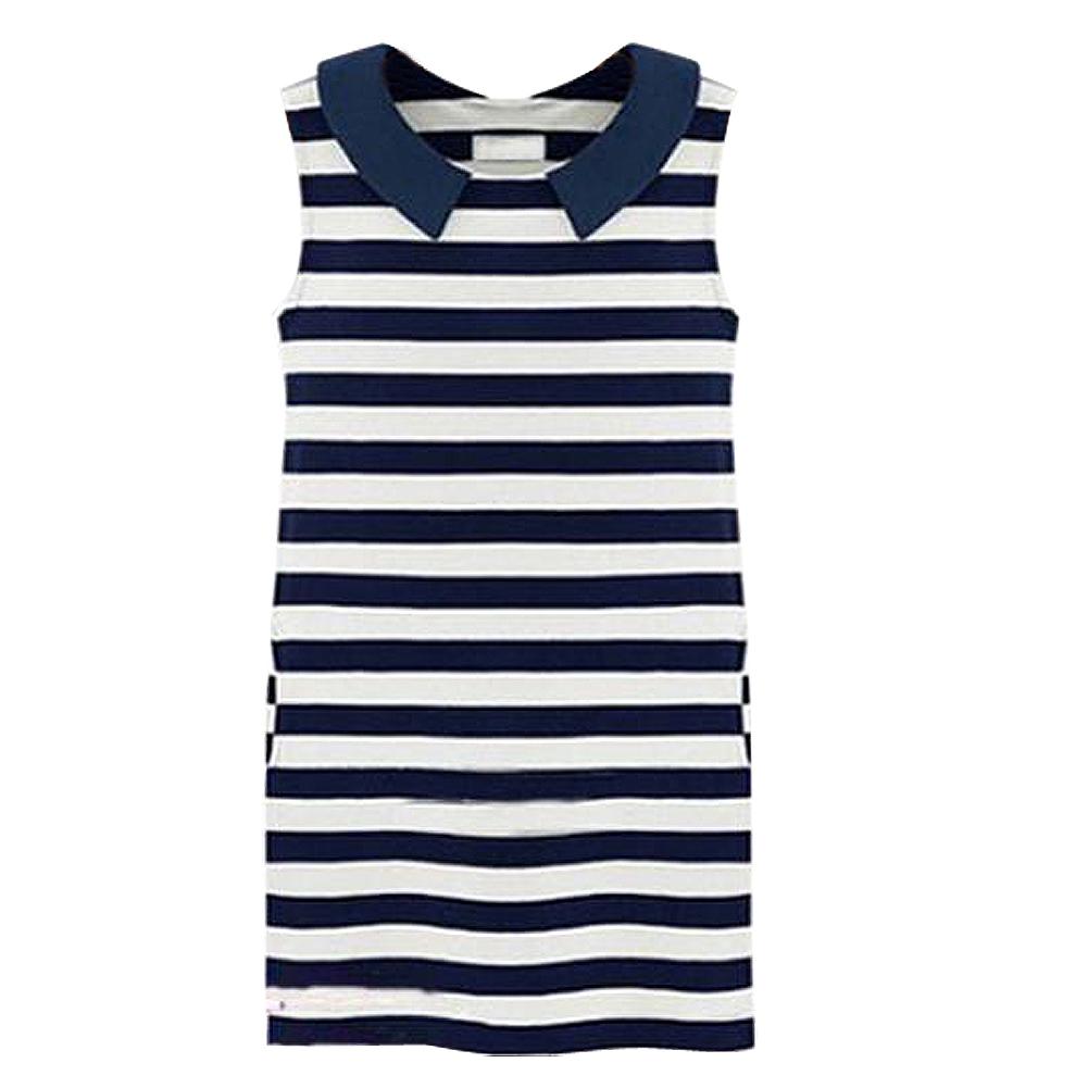 Hot selling  2016 New Arrival Summer Women Dress Stripe Sleeveless Dress Fashion Women Striped Pencil Dress vestidos femininosОдежда и ак�е��уары<br><br><br>Aliexpress