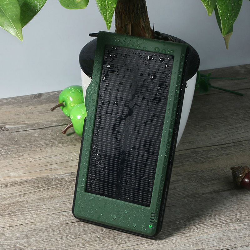 YFW QC3.0 Solar Power Bank External Battery Portable Charging 2.4A Quick Charge Poverbank Waterproof for Mobile Phones iPhone 7(China (Mainland))