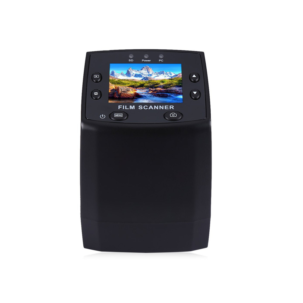 EC717 5MP 35mm Negative Film Slide Viewer Scanner USB 2.0 Digital Color Photo Copier 2.4 Inch TFT LCD Screen For Office Home(China (Mainland))