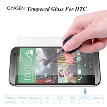 Buy 9H Scratch proof Hard Shield Tempered Glass Film HTC 826 820 816 626 M8 E9 Easy Install Explosion Proof Screen Protector for $1.15 in AliExpress store