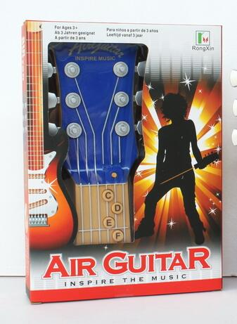 AIR GUITAR inspire the music Children's Early Musical Instruments Learning Toys 3261(China (Mainland))