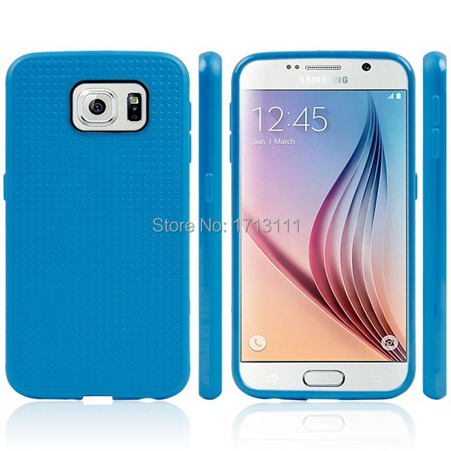 20pcs TPU Case Soft Silicone Back Cover For Samsung Galaxy S6 G9200 Ultra Slim Honeycomb Design Rubber Case For Samsung S6 Cover(China (Mainland))