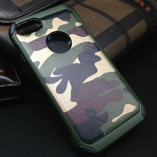 Fashion Camouflage TPU+Platsic Armor Case for iPhone 7 4.7″ Protective Phone Cover Shell Shockproof