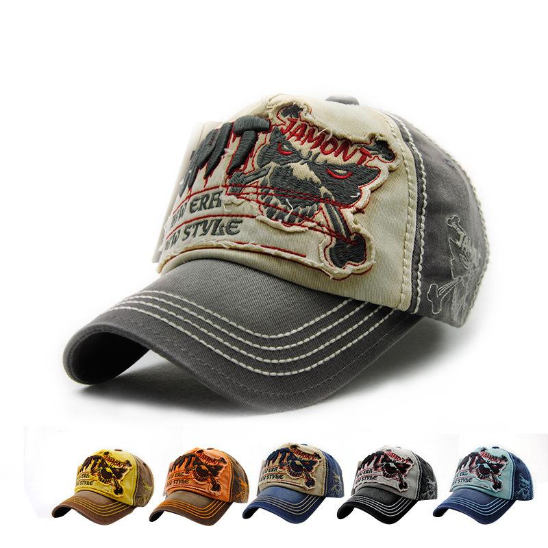 2016 Denim Baseball Caps Fashion Snapback Cap Outdoor Sports Fashion Skull Cap Hat For Men And Women Gorras Casquette Hat(China (Mainland))