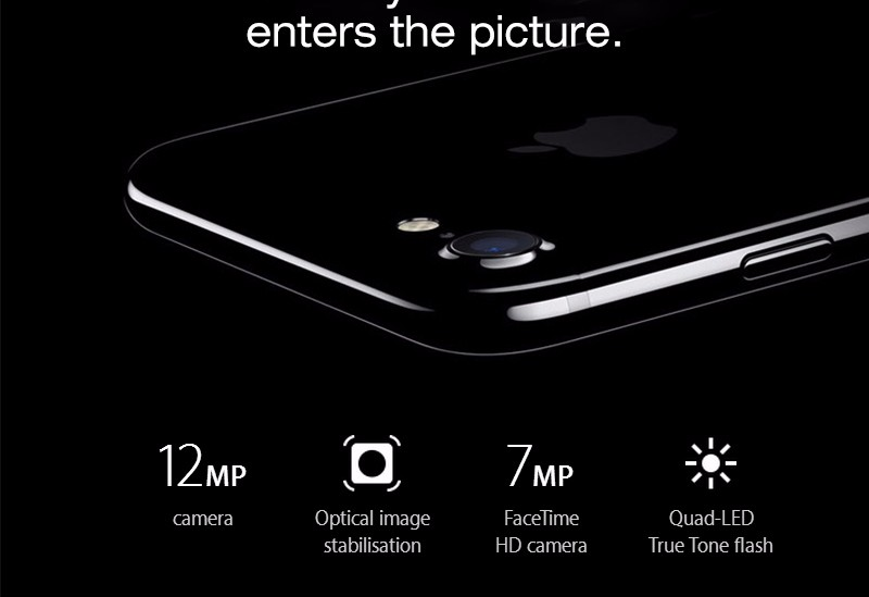Original Unlock Apple iPhone 7 plus iOS10 Quad Core A10 Mobile Phone 3GB RAM 32GB 128GB 256GB ROM Dual 12.0MP LTE Smartphone