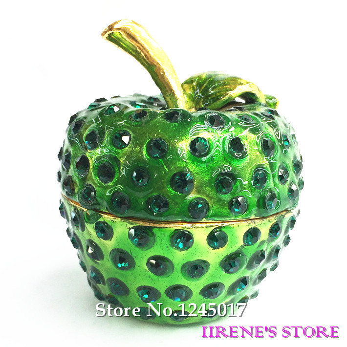Apple Jewelry Box Jewelry Box Green Apple