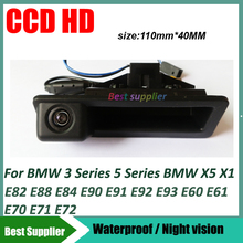 car rear view parking Camera For BMW 3 Series 5 Series BMW X5 X1 X6 E39 E46 E53 E82 E88 E84 E90 E91 E92 E93 E60 E61 E70 E71 E72(China (Mainland))