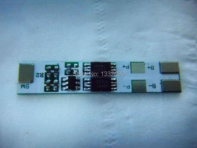 Free shipping 10PCS 7.4v 18650 battery protection board double MOS high current 18650 pcb battery protection board pcb board(China (Mainland))