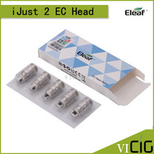 100% Original Eleaf EC Head iJust 2 Atomizer Replacement Coil Head 0.3ohm 0.5ohm Cotton Coil Head For iJust 2 Tank 20pcs/lot