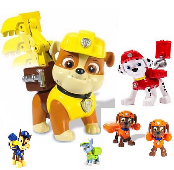 Paw Patrol Dogs Patrulla Canina Action Figures Puppy Patrol Brinquedos for Boy Girl Gift  Juguetes