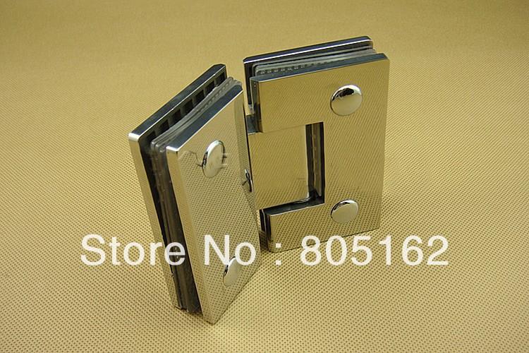 Glass door hinge,shower door hinge,stainless steel 304(XYGL-16),shiny polishing(China (Mainland))