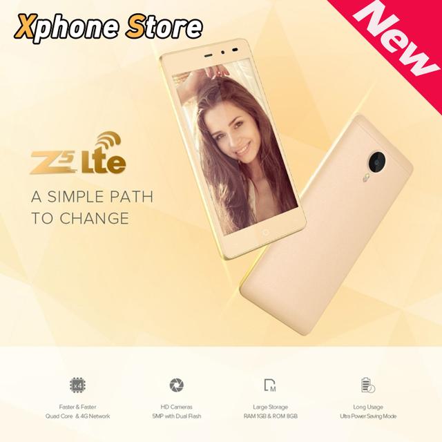 LEAGOO Z5 Lte 4 Г FDD-LTE 5.0 дюймов Мобильный Телефон Android 5.0 MTK6735WM Quad Core RAM 1 ГБ ROM 8 ГБ Поддержка Нескольких язык
