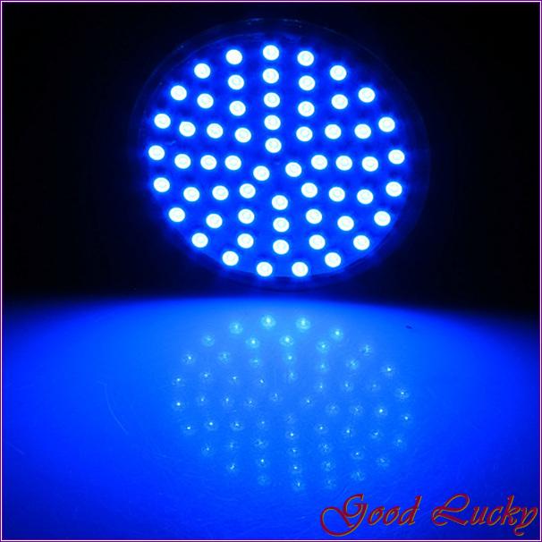 10 PCS/Lot MR16 4W LED Energy Saving Spotlight Light Lamp Bulb Blue Light 60 3528 SMD LED0276(China (Mainland))