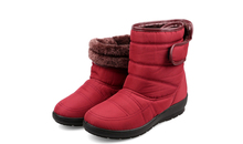 2016 nuevo invierno de mujer de marca botas de nieve zapatos impermeables antideslizantes calientes de algodón madre zapatos corto botas de mujer otoño zapatos(China (Mainland))