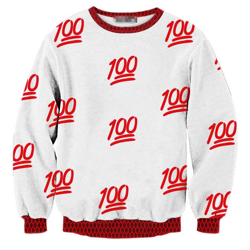 2015 Women/Men T-shirt Autumn/Winter Tops 100 Digital Printing Red S-XL Hoodie Plus Size Sweatershirt Drop Shipping Sye-830(China (Mainland))