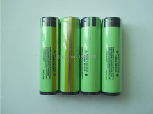 (200pcs/lot freight free)Protection 18650 3400mAh NCR18650B 3.6V for panasonic battery button top protected