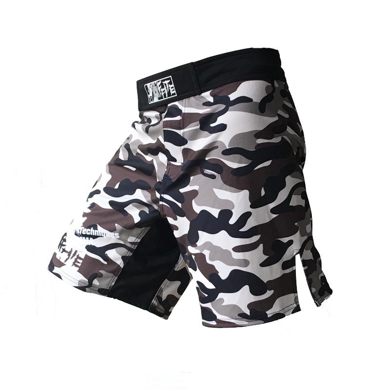 MMA shorts kick boxing muay thai shorts bad boy mma hayabusa shorts camo muay thai sanda boxe fight wear yokkao bermuda mma(China (Mainland))