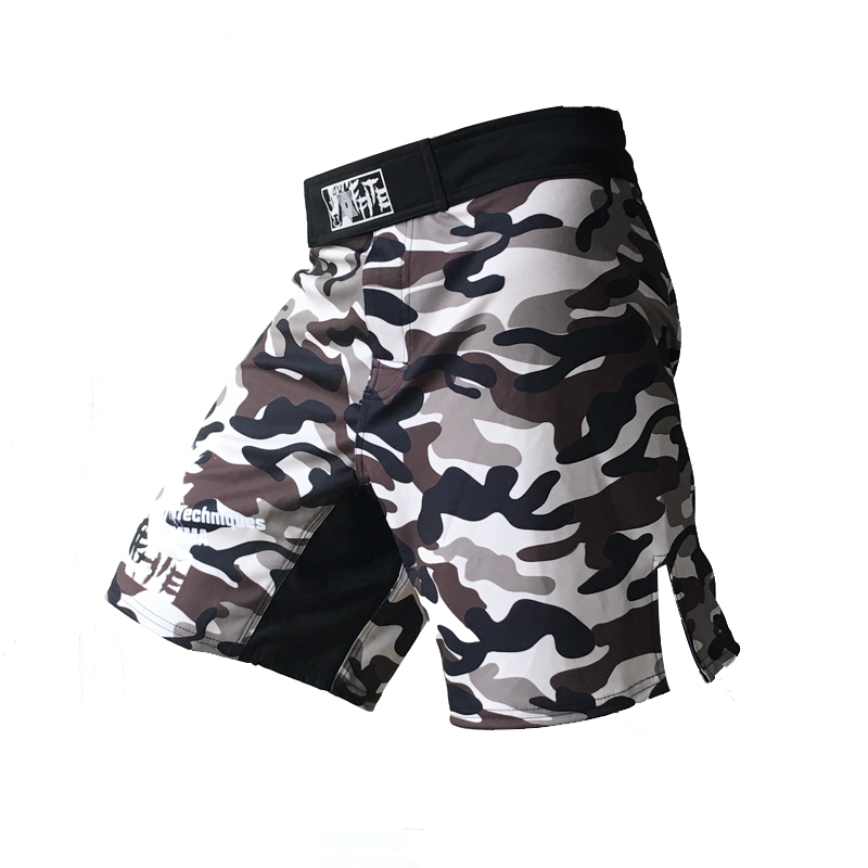 MMA shorts kick boxing muay thai shorts bad boy mma hayabusa shorts camo muay thai sanda boxe fight wear yokkao bermuda mma(China (Mainland))